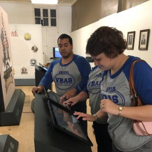 VBAS Visits the Making Alabama Traveling Exhibit